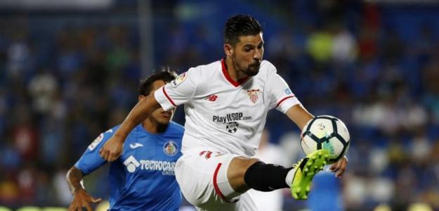 Nolito en un partido / Sevilla