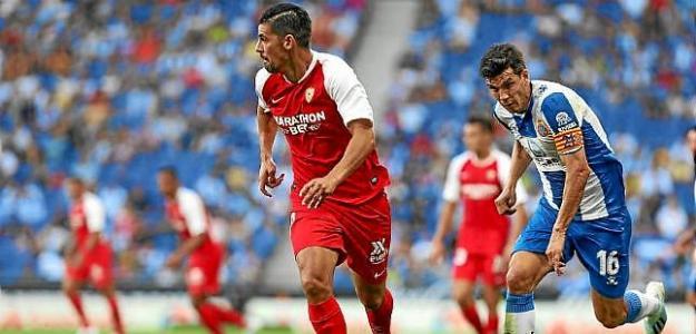 Nolito en el debut en liga con el Sevilla / LaLiga