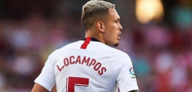 """Lucas Ocampos aparece en el radar del Manchester United """"Foto: El Córner del Sur"""""""