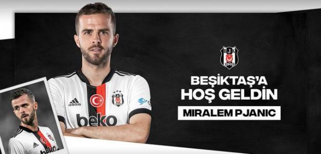 OFICIAL: Miralem Pjanic, nuevo jugador del Besiktas