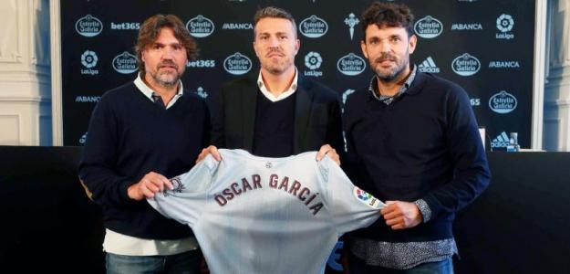 Los primeros brotes verdes del Celta con Óscar García