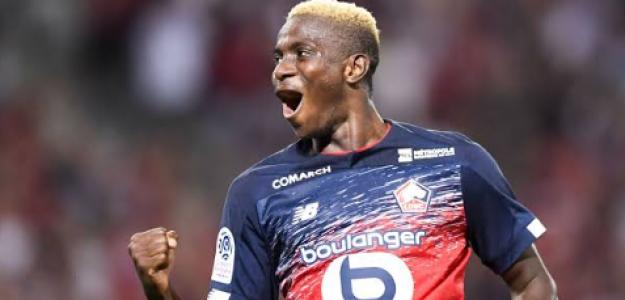 """El Lille cierra la venta de Osimhen y el fichaje de Jonathan David """"Foto: L'Equipe"""""""