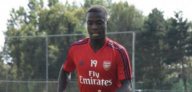 El decepcionante inicio de Pépé en el Arsenal
