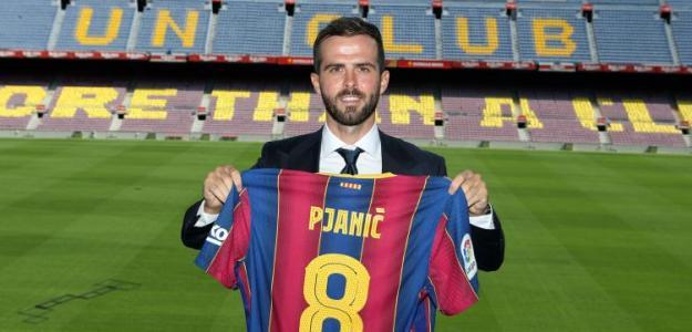 Pjanic encuentra una opción factible para salir del Barcelona / FCBarcelona.es