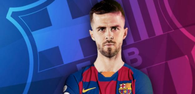"""OFICIAL: Miralem Pjanic es nuevo jugador del FC Barcelona """"Foto: Marca"""""""