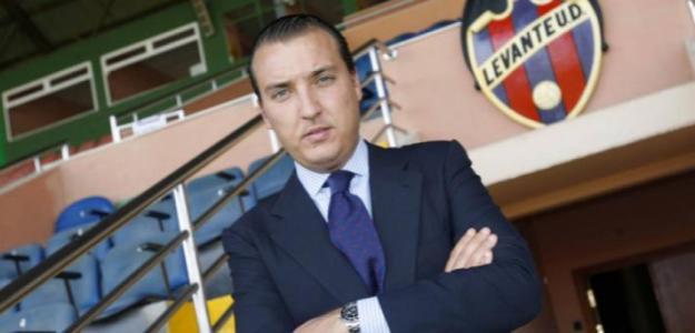 Quico Catalán presidente del Levante. Foto: Levanteud.es