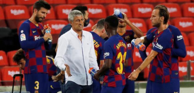 Quique Setién seguirá al frente del FC Barcelona. Foto: Marca