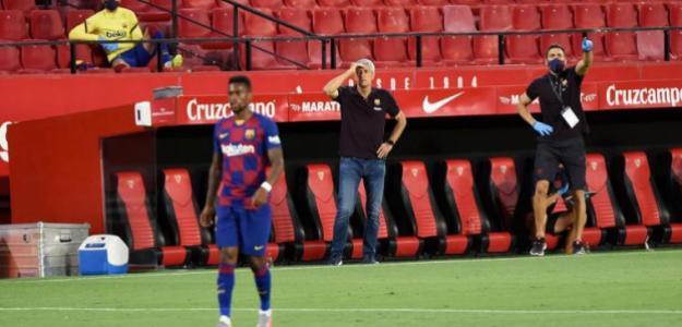 Los errores de Quique Setién ponen en peligro el título de Liga | FOTO: BARCELONA