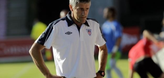 Quique Setién, técnico del Lugo