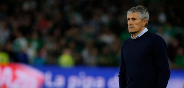 Quique Setién, destituido como entrenador del Betis / Real Betis Balompié