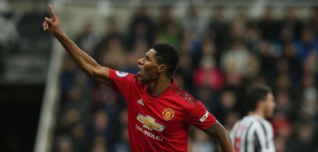 Rashford vive su temporada trampolín en el Manchester United