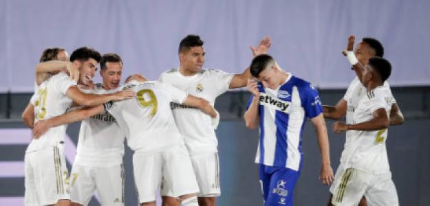 """""""El Real Madrid podría ser matemáticamente campeón el lunes. Foto: Getty Images"""""""
