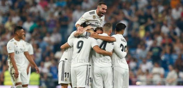 Real Madrid, celebrando un gol / twitter