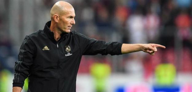 Zidane necesita cambiar la plantilla   FOTO: REAL MADRID