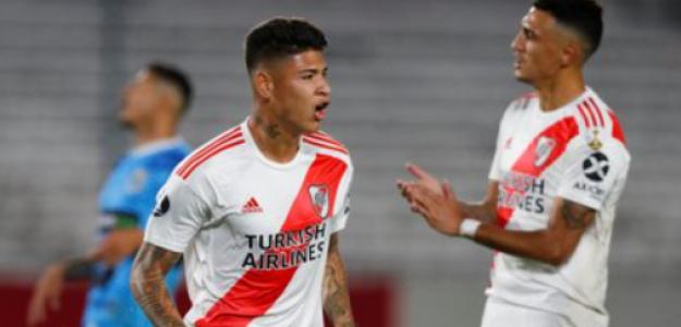 """El inesperado fichaje que podría recibir River Plate en febrero """"Foto: TyC Sports"""""""