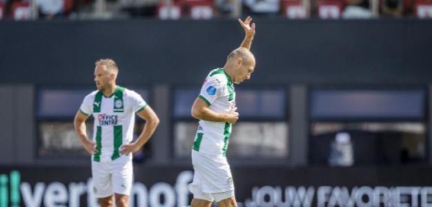 Robben vuelve a vestirse de corto