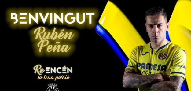 Rubén Peña, refuerza el Villarreal / Villarrealcf.es