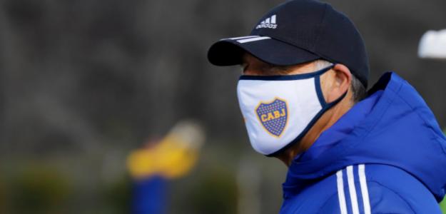 """A vueltas con el delantero en Boca Juniors """"Foto: Depor.com"""""""