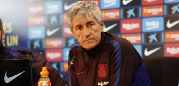 Los señalados por Setién para salir del Barça. Foto: Marca