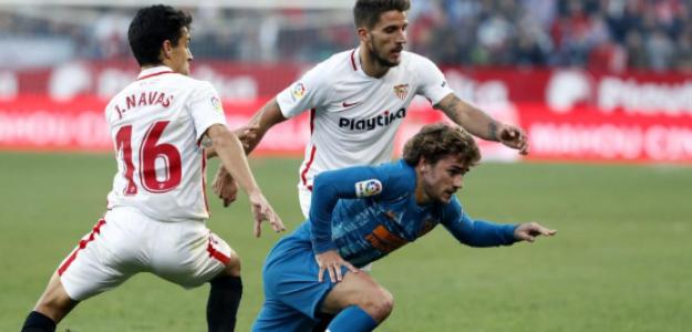 """El escenario defensivo que se presenta de cara al Sevilla-Atleti """"Foto: La Vanguardia"""""""
