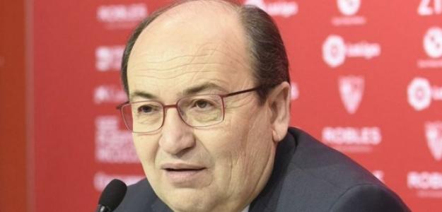 """El presidente del Sevilla no cree que acudan al mercado invernal """"Foto: El Español"""""""