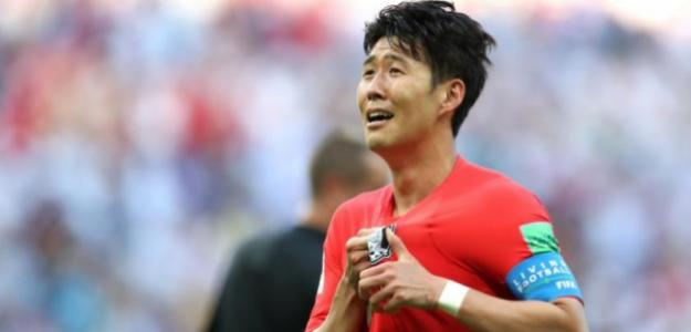 """Heung Min Son """"recibirá el premio 'Pilsung'"""". Foto: Movistar Deportes"""