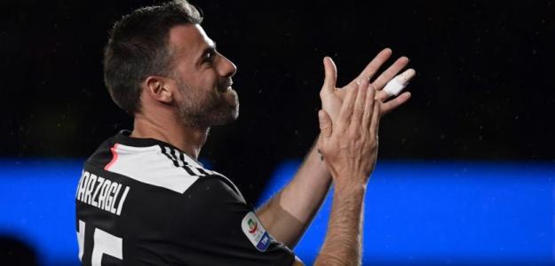 El sorprendente adiós de Barzagli de la Juventus. Foto: Liga Deportiva Postobón