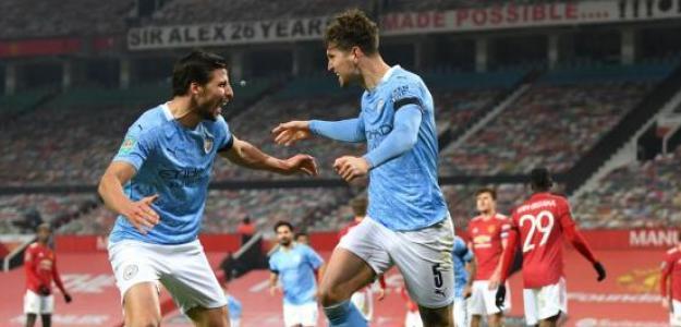 Guardiola al fin da con la tecla con los centrales en el Manchester City