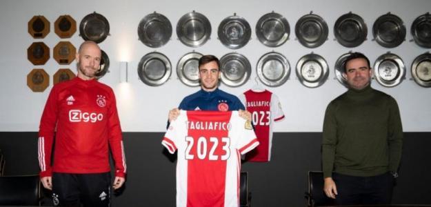 El Ajax renueva a Tagliafico, pero deja una puerta abierta para los grandes. Foto: es.besoccer.com