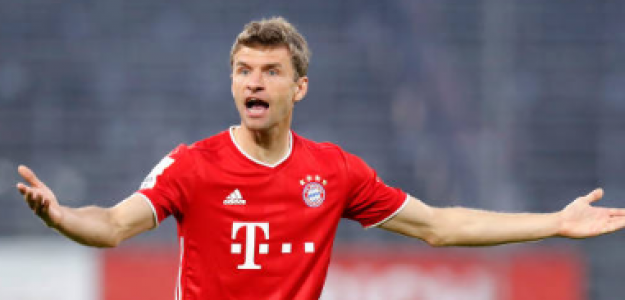"""""""Thomas Müller, ¿el jugador más infravalorado de la década? Foto: Getty Images"""""""