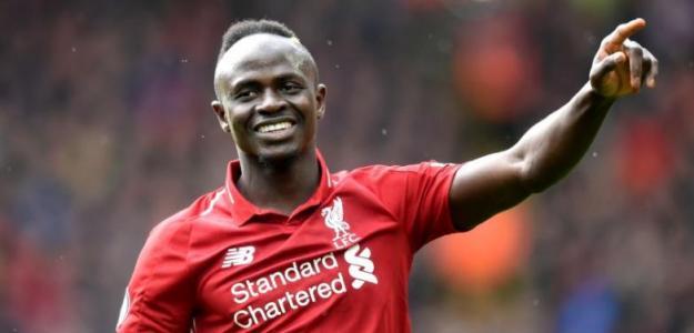 Mané celebra un gol con el Liverpool / Liverpool