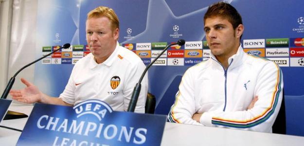 El interminable 'tiroteo' entre Joaquín y Koeman. Foto: Eurosport