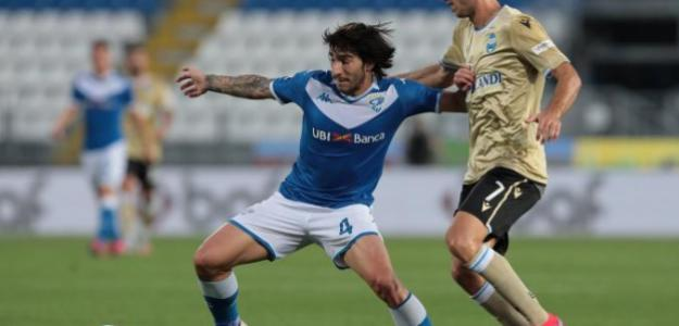 El Inter de Milán llega a un acuerdo con Sandro Tonali   FOTO: BRESCIA