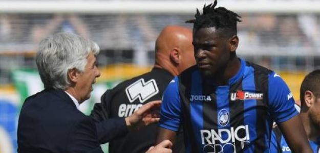 Duván Zapata podría firmar por el Inter tras la salida de Lukaku. Foto: Getty