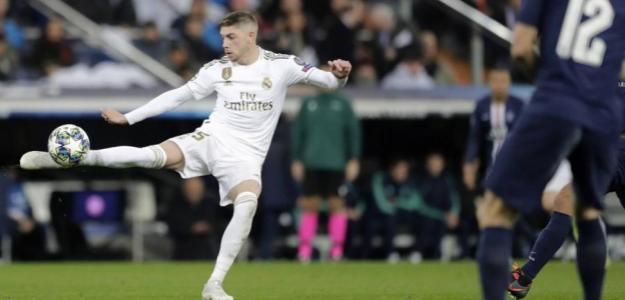 Fede Valverde se convierte en titularísimo. Foto: AP