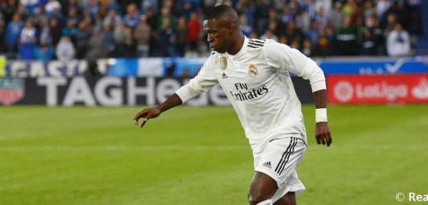 Vinicius Junior en un partido / Real Madrid