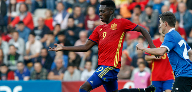 "¿Iñaki Williams es invisible para Luis Enrique? ""Foto: SEFutbol"""