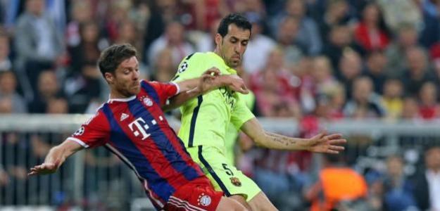 Xabi Alonso o Sergio Busquets: ¿Quién es mejor?   FOTO: FC BARCELONA