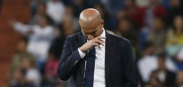 """""""Otro paso atrás de Zidane./ Foto: El economista"""""""
