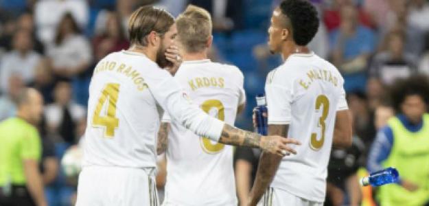 """Los problemas de Zidane en el lateral derecho """"Foto: Marca"""""""