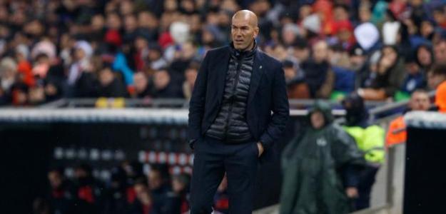 Zinedine Zidane como entrenador del Real Madrid / LaLiga