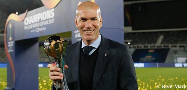 Zinedine Zidane, entrenador del Real Madrid. Foto: RealMadrid.com