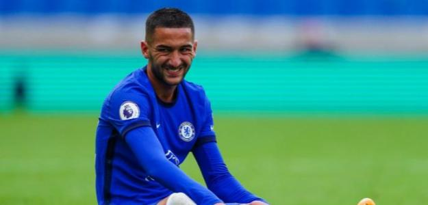 Hakim Ziyech no termina de arrancar con el Chelsea