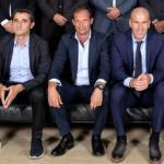 Valverde, Allegri, Zidane y Mourinho (UEFA)