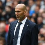 Zidane en un partido/ Real Madrid