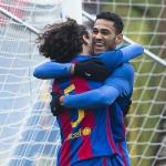 Cucurella y Mboula (FC Barcelona)