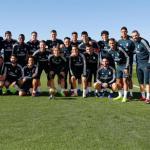 Jugadores del Real Madrid / Facebook.