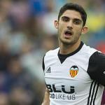 """""""Guedes en la rampa de salida del Valencia./ Foto: Mundo Deportivo"""""""