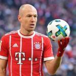 Robben en un partido / Bayern