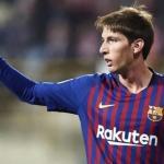 Miranda en un partido / Barça